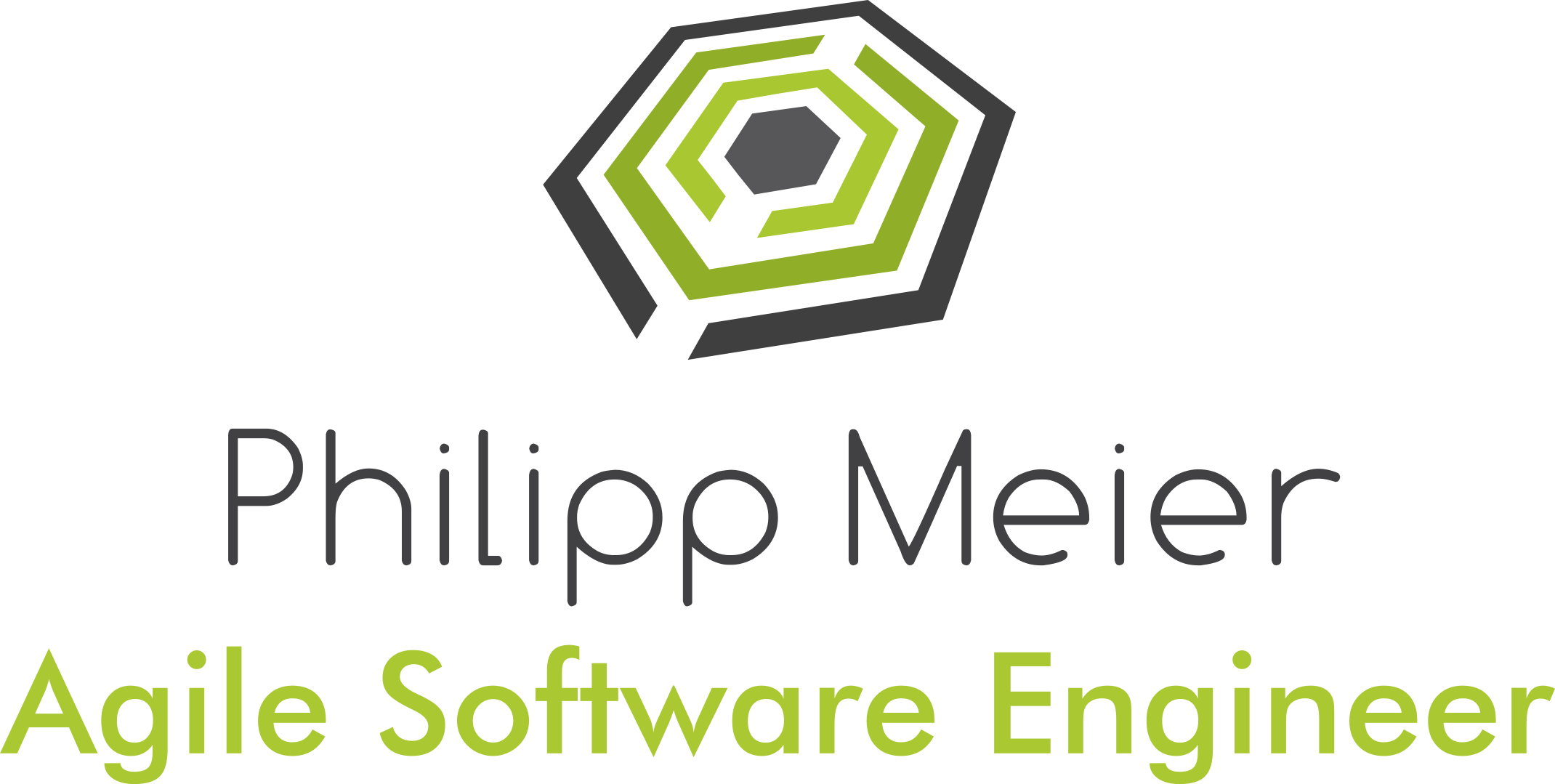 Philipp Meier - Agile Software Engineer - Logo